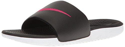 Nike Wmns Kawa Slide, Sandlai Sportivi Donna, Multicolore (Black/Vivid Pink 060), 38 EU