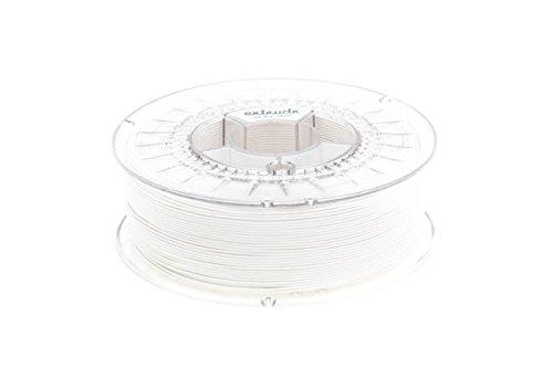 extrudr® PLA NX2 MATT ø1.75mm (1.1kg) Weiss MATT (RGB 255:255:255) - 3D Drucker Filament - Made in EU - höchste Qualität zum fairen Preis!