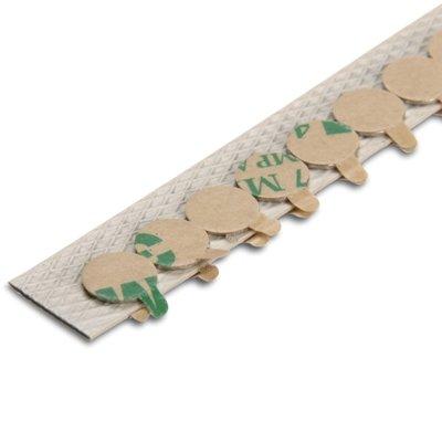 10 Kleine Neodym Scheibenmagnete 8,0 x 0,75 mm N35 Nickel selbstklebend zum Basteln I Neodym Magnet zum kleben I Scheiben oder Quader Form I Extra Stark Magnetkraf