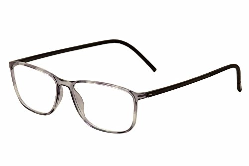 Silhouette Eyeglasses SPX Illusion Fullrim 2888 6052 Grey Tortois 2888-6052-55mm