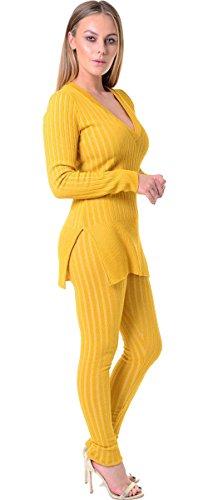 ARAMONIAT -  Tuta da ginnastica  - Donna Mustard