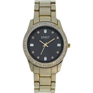 spirit-lux-womens-quartz-watch-with-black-dial-analogue-display-and-gold-bracelet-aspl74x