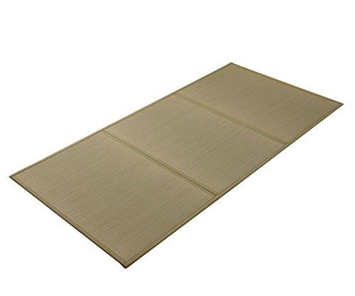 Full-futon-matratze (IKEHIKO Traditionelle japanische Igusa Tatami Matratze. Made in Japan Full Natur)