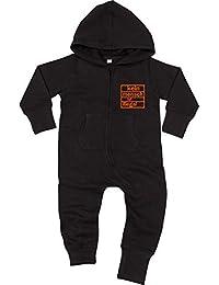 Pauli Baby Sweatjacke Black Racker-n-Roll ST