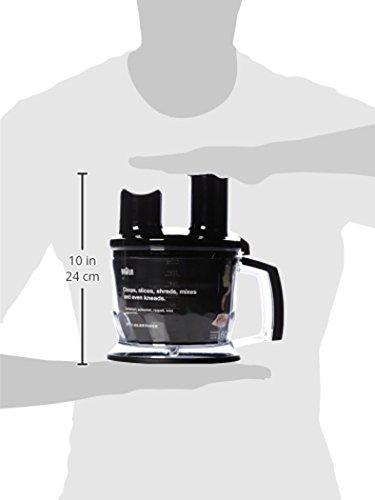 Braun Multiquick 7 MQ 787 Gourmet Stabmixer (750 W) schwarz
