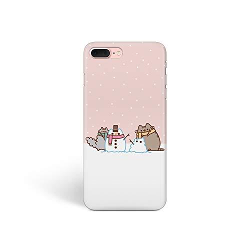 Schutzhülle für iPhone (Motiv: süße Winterkatzen) für Apple iPhone, iPhone 4 / 4s, Cute Cat Snowman