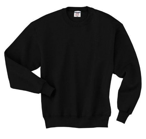 Jerzees Men's Super Sweats Quarter Zip Preshrunk Pullover -