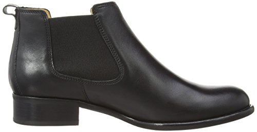 Gabor Shoes - Gabor Fashion 31.640, Stivali Chelsea da donna (27 BLACK CALF LEA)