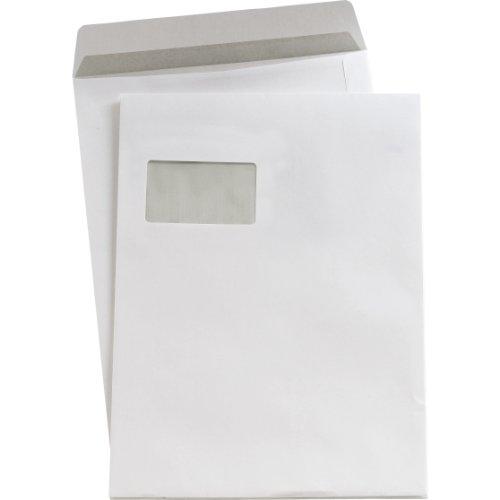 Preisvergleich Produktbild 5 Star(TM) Versandtaschen C4 sk weiß mit Fenster 90 g/qm Inh.250