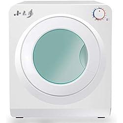 Sèche-linge domestique, température réglable 55-60 ° C, minuterie et séchoir mobile