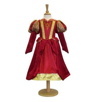 Girls Kids Childrens Historical Tudor/Medieval Queen/Princess Fancy Dress Costume 9-11 Years by Travis