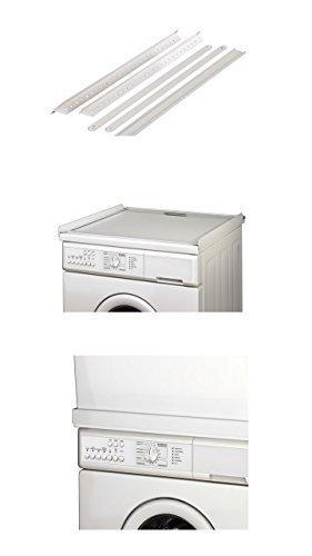 Verbindungsrahmen ohne Arbeitsplatte für Waschmaschine / Trockner NEU Verbindung ohne Schrauben auf...