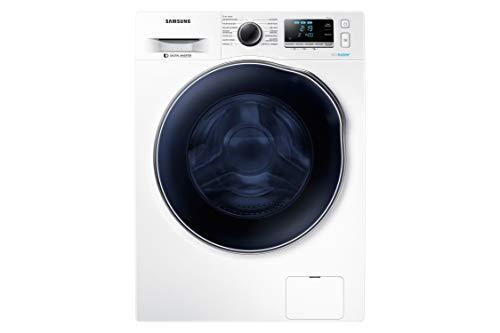 samsung - lavasecadora serie 6 wd80j6a10aw 8kg de lavado/ 5kg de secado, carga frontal, blanco, led