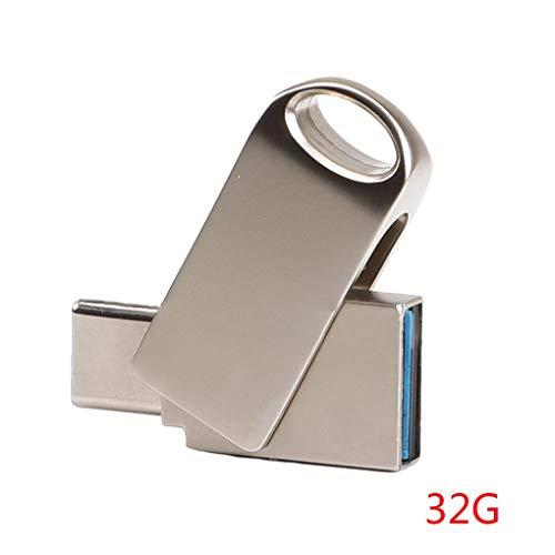 Fangfeen Wasserdicht-Metall-USB-Flash-Laufwerk wasserdichte 64GB U-Stick 16GB 32GB Pendrive USB 3.0 Flash Drive Schlüsselanhänger - Usb-laufwerk Schlüsselbund