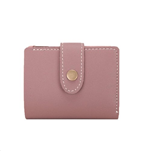 Kingko® Women Wallet Purse Small Short Wallets Mini Money Purses Fold Bags Ladies Handbag Coin Purse Card Holder (Pink)