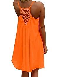 Vestido De Gasa Señoras Las De La De Playa Mode De Marca Floja Túnica Blusa Vestidos