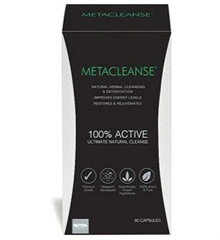 METACLEANSE Detox Supplement, 80 Capsules