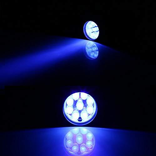 UV-Taschenlampe Ultra Violet Schwarzlicht Led Aluminium Taschenlampe Aaa Pet Urin Flecken Detektor Skorpion Jagd Taschenlampe -