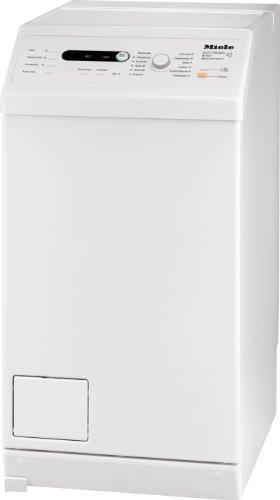 Miele W 627 F WPM Waschmaschine Toplader/A+ B/1300 UpM/5.5 kg/Lotosweiß/Schontrommel/Fahrrahmen