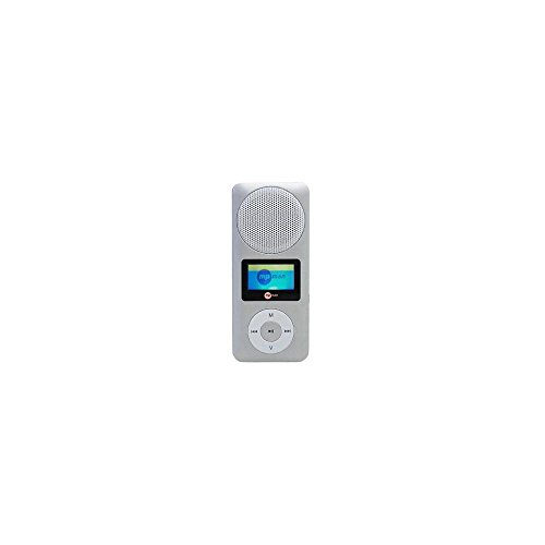 MPMAN FIESTA2-MP3-Player (MP3, Blau, Raten, 2GB, microSD (Transflash), SDHC, MP3, WMA)