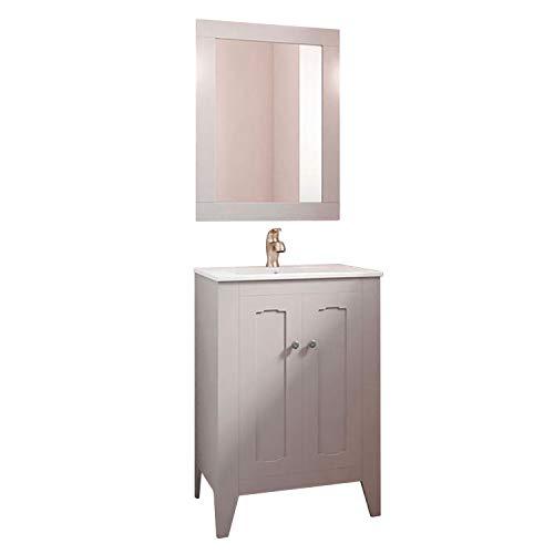 Randalsa Mueble baño 60 cm Boho clásico Vintage