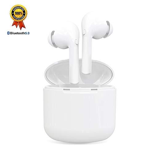 Écouteurs sans Fil Écouteurs Bluetooth Oreillette Bluetooth 5.0 Hi-FI Stéréo Antibruit Autonomie Sport Etanche Compatible avec iPhone Samsung Huawei Xiaomi