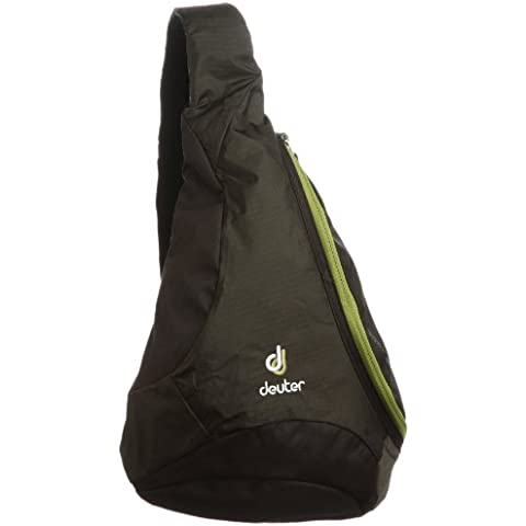 Deuter, Sacca a tracolla Tommy, Marrone (Coffee-Moss), 36 x 31 x 12 cm, 5 litri