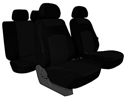 Simple Housses Classic Plus Convient pour Dacia Duster–universel Housse de siège en tissu pour sonderpreis. dans cette annonce Noir (Disponible en 5couleurs dans d