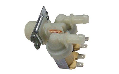 ORIGINAL LG Electronics 5220FR1251E Magnetventil Ventil 2-fach 180° 12mmØ Waschmaschine F1255FD.ABWQEDG WD-12361TDK.AOWQGDG