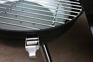 Mini Kugel BBQ Grill schwarz Holzkohlegrill Camping Garten Kohle Gartenausstattung von Jet-Line -