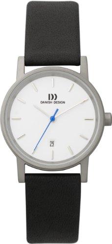 Danish Design DZ120002 - Reloj para mujer, correa de cuero color negro