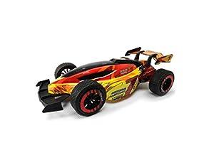 Dickie Toys 201119141 RC Nitro League, RTR 201119141-RC, vehículo teledirigido con función Turbo, 1:10, 46 cm, 15 km/h, Amarillo/Naranja/Rojo