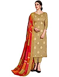 e80ef930d3 Amazon.in: Off-White - Dress Material / Ethnic Wear: Clothing ...