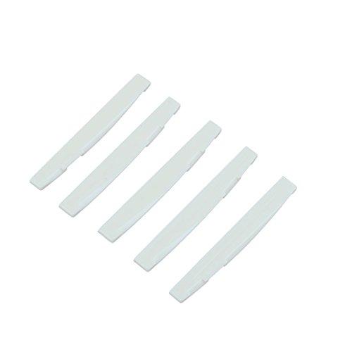 Imagen de toogoo r puente sillin de plastico 5 piezas para  acustica