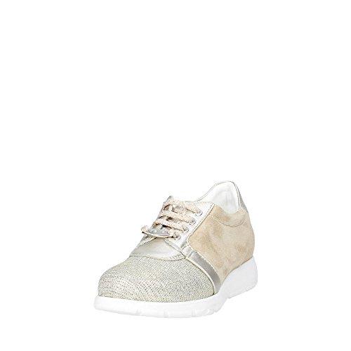 Keys 5017 Sneakers Bassa Donna Oro