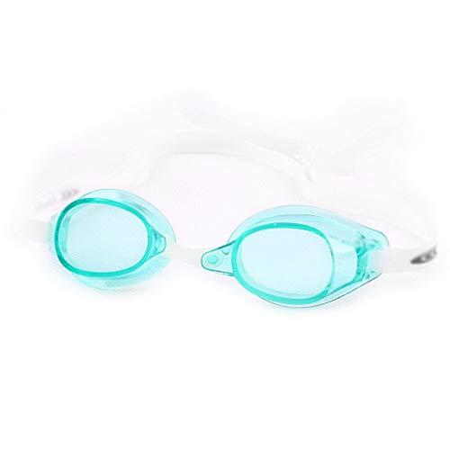 ZTMN Schwimmbrille Schwimmspiegel professionelle Ausbildung High-Definition-Anti-Fog und wasserdichte Abdichtung Männer und Frauen (Farbe: Lake Blue) -