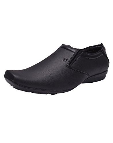 Prolific Men Synthetic Leather Formal Black Shoe