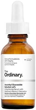 The Ordinary Ascorbyl Glucoside Solution 12% (30ml) - A Brightening Serum with Stabilized Vitamin C Derivative