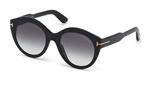 Tom Ford Sonnenbrillen Rosanna FT 0661 Black/Grey Shaded Damenbrillen