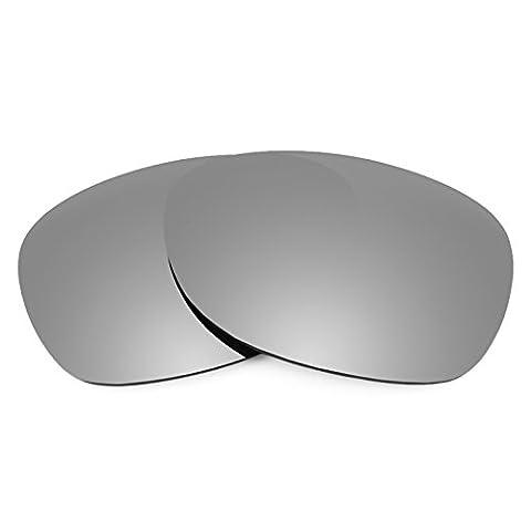 Verres de rechange Revant polarisés Titanium pour Ray-Ban New Wayfarer 52mm RB2132