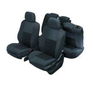 DBS 1011569 Coprisedili Auto / Vettura - Su Misura - Rifinizioni Alta Gamma - Montaggio Rapido - Compatibile Airbag - Isofix
