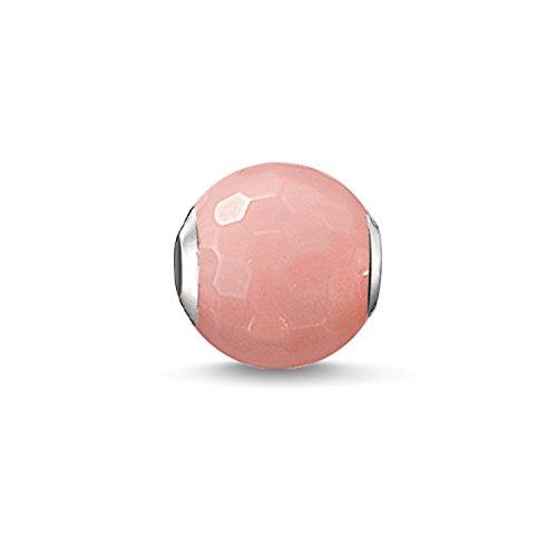 ad Pinke Bambuskoralle Karma Beads 925 Sterling Silber pink rosé K0128-590-9 ()