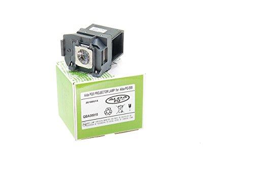 Alda PQ-Premium, Beamerlampe / Ersatzlampe für EPSON EH-TW6600, EH-TW6600W, HC3000, HC3500, HC3600E, EH-TW6700, EH-TW6800, HC3100, HC3700, HC3900 Projektoren, Lampe mit Gehäuse