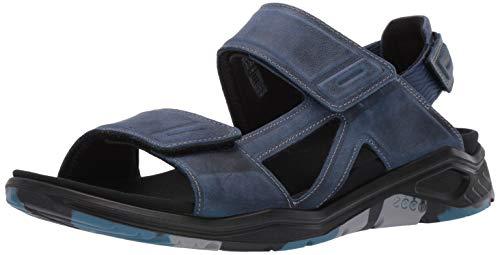 ECCO Herren X-TRINSIC Peeptoe Sandalen, Blau (True Navy 1048), 48 EU True Navy Schuhe
