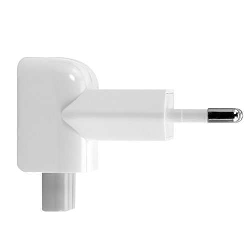 kwmobile Duckhead Adapter für Apple Power Adapter EU 2 Pin Power Plug für iPad 10W und 12W und Macbook Magsafe 1 und 2 Ladegeräte (Ipad 10w Usb Power Adapter)
