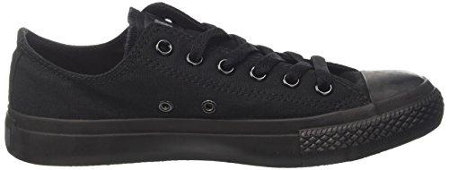 Converse  Ctas Mono Ox,  Sneaker unisex adulto Nero (Black Mono)