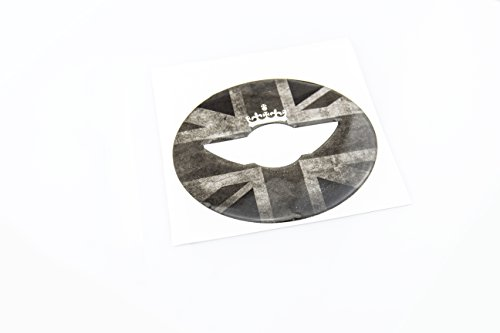 LVBAO 3D copertura del volante cruscotto Trim sticker per BMW Mini One Cooper S JCW F Series F54F55F56F57F60Countryman Clubman Union Jack