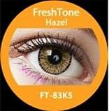 donne multicolore carino fascino e attraente moda lenti a contatto casi makeup Eye Shadow–Honey 3con lenti a contatto caso di visione Enno TM