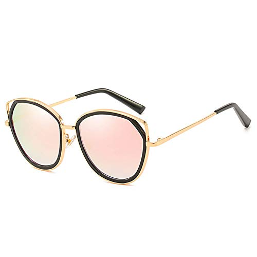 AAMOUSE Cat Eye Design Sonnenbrillen Frauen Frauen Sonnenbrille Spiegel Abstellgleis UV400 Sonnenbrille -