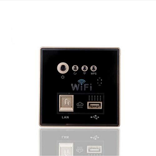 Cikuso RIPETITORE Segnale WiFi-N Hotspot Estensione Wireless ESTENDERE Amplificatore WiFi Spina UE